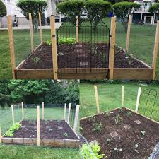 2018 Raised Garden Bed Upgrades Are Complete New Fence Gate And Drip Irrigation System Gardening