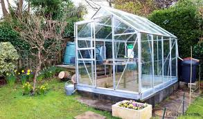 deep cleaning the greenhouse with eco
