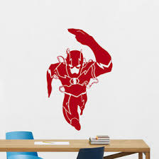 Wall Decal Flash Superhero Comics Kids Nursery Vinyl Sticker Poster Mural 173zzz Ebay