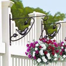 Pot Outdoor Plant Hanging Shelf Flower Rack Creative Balcony Fence Buy At A Low Prices On Joom E Commerce Platform