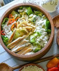 mexican en caesar salad 4 sons
