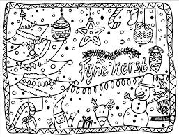 Kerst Kleurplaat Made By Lau