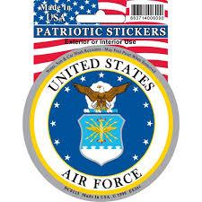 Shop Us Air Force Emblem Car Decal Overstock 15885966