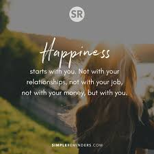 unknown author happiness starts you wy positive motivation