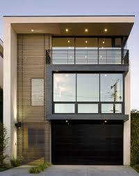 fachada de casas pequenas e modernas