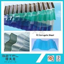 polycarbonate corrugated plastic