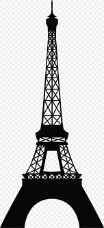 Eiffel Tower Wall Decal Clip Art Png 1296x2832px Eiffel Tower Black And White Decal Landmark Monochrome