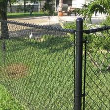 High Tensile Chain Link Fence Protects Plants And Some Livestock Chain Link Fence Welded Wire Fence Metal Fence Posts