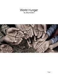 abby hawkins teen activist book | Hunger | Malnutrition