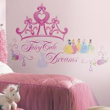 Disney Princess Crown Peel And Stick Giant Wall Decals Buybuy Baby