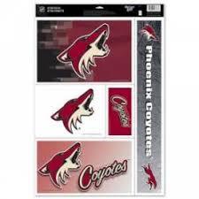 Phoenix Coyotes Stickers Decals Bumper Stickers