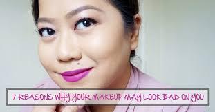 7 reasons why your makeup may look bad