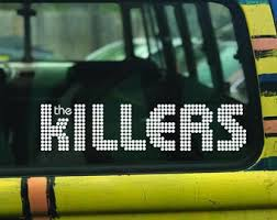 The Killers Sticker Etsy