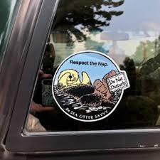 Sea Otter Savvy Sticker