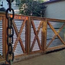 Ryobi Nation Privacy Fence Designs Fence Design Backyard Fences