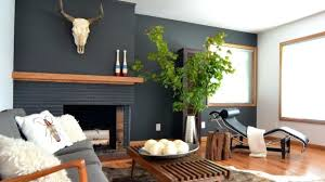 painted brick fireplace color ideas