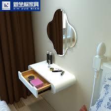 modern minimalist wall mounted dressing