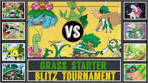 Grass Starter Tournament (Pokémon Sun/Moon) - Blitz Torunament #3 ...