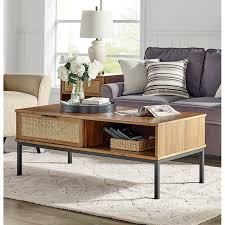fahey coffee table with storage
