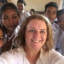 Crowdfunding to Buy bicycles for Cambodian school students on JustGiving