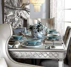 sophie mirrored dining table home