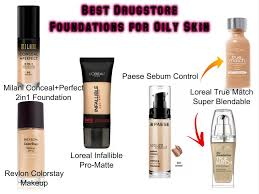 best foundations for oily