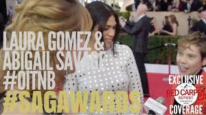 Laura Gomez & Abigail Savage #OitNB interview at 24th Screen ...