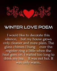 love poems for winter love quotes poems love poems