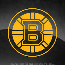 Boston Bruins Nhl Vinyl Decal Sticker 4 And Larger 30 Color Options Ebay