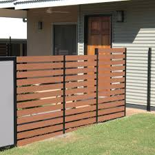 china aluminium wood fence apply for