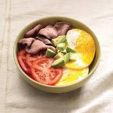 power breakfast egg bowl w steak