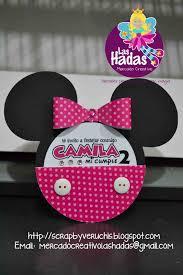 Minnie Mouse Rosa Dots Invitaciones Minnie Fiesta Minnie