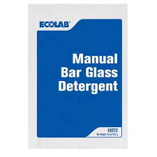 ecolab 6110372 ecolab bar glass cleaner
