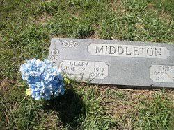 Clara I Bradshaw Middleton (1917-2007) - Find A Grave Memorial