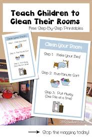 How To Teach Children To Clean Their Bedroom Onecreativemommy Com