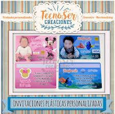 Invitaciones Tipo Tarjeta De Credito Pvc Ambas Caras 44 95 En