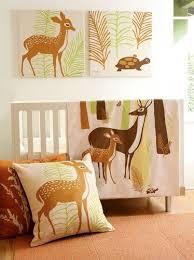 woodland baby nursery