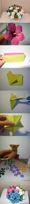 diy beautiful paper origami lily flower