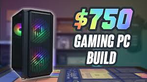 2020 $750 Budget Gaming PC Build - YouTube
