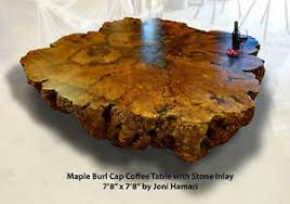 huge maple burl coffee table live edge