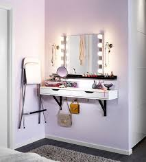 diy makeup vanity brilliant setup for