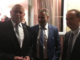 Farewelling Ambassador Logvinov ...