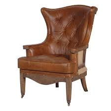 classic leather armchair furniture