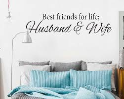 Best Friends For Life Decal Sticker Wall Art Husband And Wife Love Marriage Bedroom Love Infinity