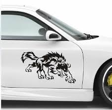 Free Shipping Font B Custom B Font Wolf Car Font B Decals B Font Stickers Automotive Jpg 467 460 Car Stickers Car Car Decals