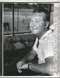 1960 Press Photo Arnold Johnson pres. Kansas City Athletics ...