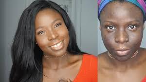 natural makeup tutorial dark skin