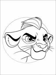 Kleurplaten Voor Kinderen Printen The Lion Guard 6 Dibujos