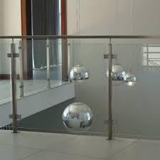 tempered glass balcony railing design