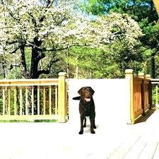 Outdoor Dog Gates For Decks Birbudhu Org